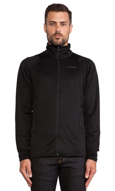 Patagonia R1 Full Zip Jacket in Black