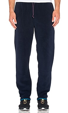 Synchilla Snap-T Pants in Navy Blue & Underwater Blue