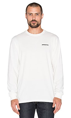 Patagonia P-6 Logo in White