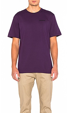 Patagonia P-6 Logo Tee in Panther Purple