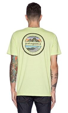 Patagonia Rivet Logo Tee in Mayan Yellow