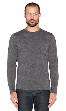 Patagonia Merino Daily Tee in Black