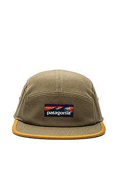 Patagonia Board Short Label Tradesmith Cap in Fatigue Green