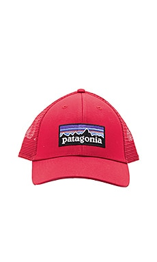 Patagonia P6 Low Profile Trucker in Classic Red