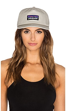 Patagonia P-Label Stand Up Hat in Stone