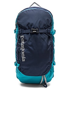 Patagonia SnowDrifter 20L in Navy Blue & Epic Blue
