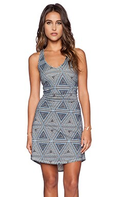 Patagonia Kamala Twist Dress in Little Bermuda Skipper Blue