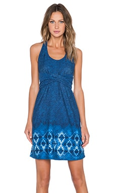 Patagonia Kiawah Island Dress in Moon Child Navy Blue
