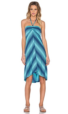 Patagonia Kamala Convertible Dress in Howling Turquoise