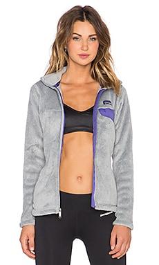 Patagonia Full Zip Re-Tool Jacket in Tailored Grey & Nickel X Dye