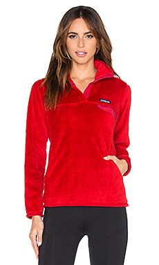 Patagonia Re Tool Snap T Pullover in Classic Red
