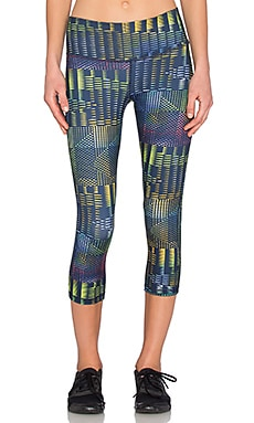 Patagonia Centered Crop Leggings in Navy Blue