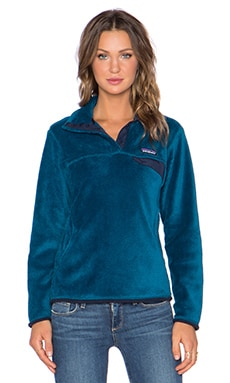 Patagonia Re-Tool Snap T Pullover in Underwater Blue & Crater Blue X Dye