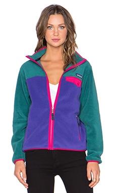 Patagonia Full Zip Snap T Jacket in Concord Purple