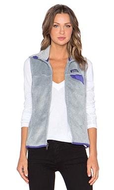 Patagonia Re-Tool Vest in Tailored Grey & Nickel X Dye