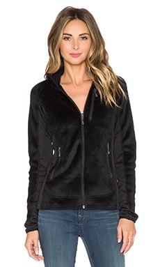 Patagonia R2 Faux Fur Jacket in Black