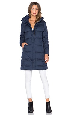 Down With It Parka in Navy Blue