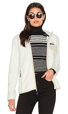 Lightweight Snap-T Hooded Jacket en Bouleau Blanc