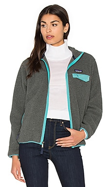 Full-Zip Snap-T Jacket in Nickel & Mogul Blue