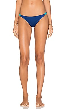 Reversible Hatutu Bikini Bottoms in Channel Blue