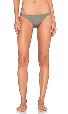 Patagonia Reversible Hatutu Bikini Bottoms in Light Bog