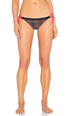 Patagonia Nanogrip Bikini Bottom in Shadow Pop Black