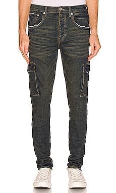 Resin Cargo Jeans Purple Brand $275