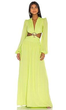 Вечернее платье cutout - PatBO Длинные рукава фото