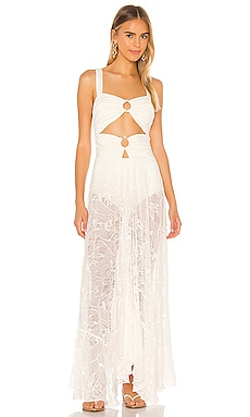 Lace Beach Dress PatBO $750
