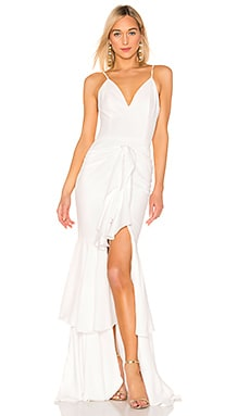 Ruffle Maxi Dress PatBo $675 Wedding
