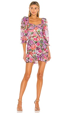Blossom Mini Dress PatBO $550 NEW