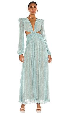 Lurex Cutout Gown PatBO $895