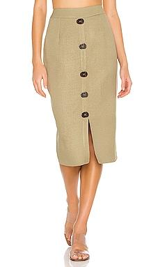 Linen Pencil Skirt PatBO $115