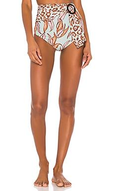 Belted Bikini Bottom PatBO $150