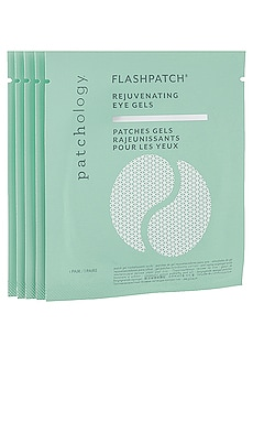 FlashPatch Eye Gels 5 Pairs Patchology $15