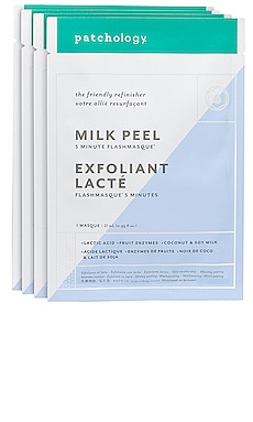FlashMasque Milk Peel 4 Pack Patchology $30