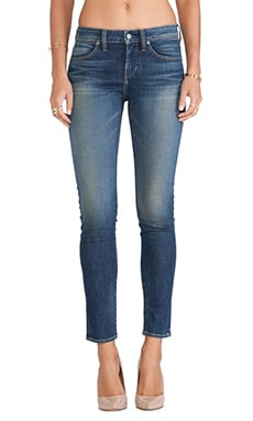 Paper Denim & Cloth FLX Ankle Skinny in Medium Dark