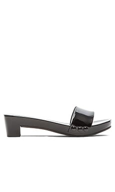 Pedro Garcia Nancy Sandal in Black Gloss