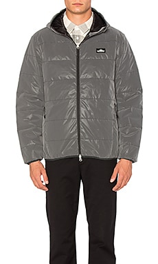 Penfield Makinaw Reflective Packable Down Jacket in Black