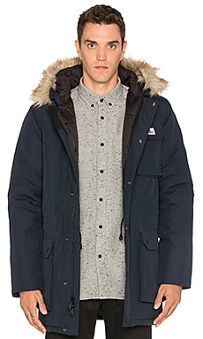 Lexington Faux Fur Trim Hooded Mountain Parka