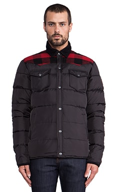 Rockford Lightweight Down Jacket в цвете Черный