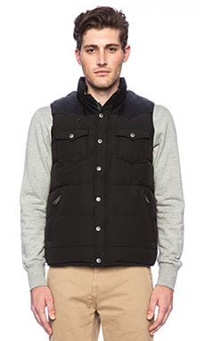 Penfield Stapleton Vest in Black