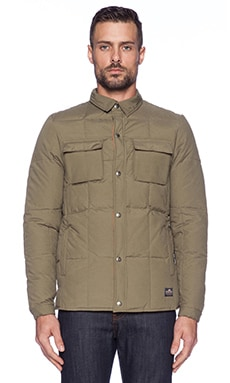 Penfield Loring Insulated Shirt in Lichen