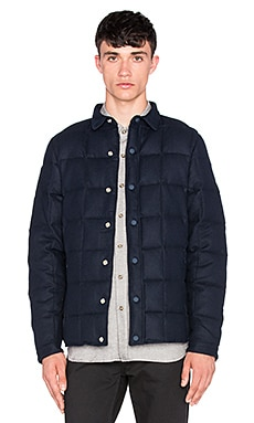Penfield Loring Melton Thermal Utility Jacket in Navy