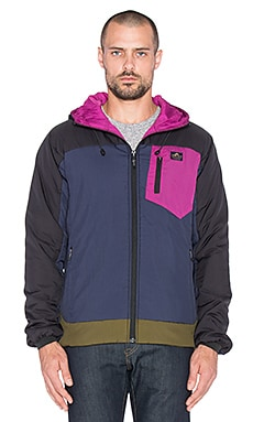 Penfield Forfields Thermal Insulated Utility Jacket in Black