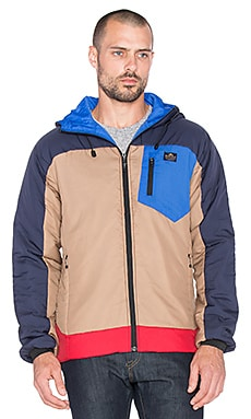 Penfield Forfields Thermal Insulated Utility Jacket in Navy