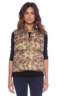 Penfield Appleby Ripstop Down Vest in Camo