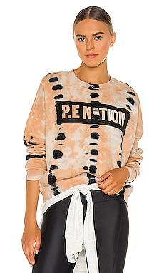 Score Runner Sweatshirt P.E Nation $130 NEW
