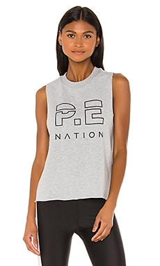 Throw In The Towel Tank P.E Nation $55