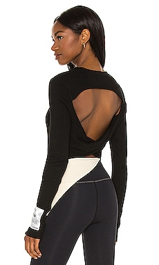 Box Out Knit Top P.E Nation $135